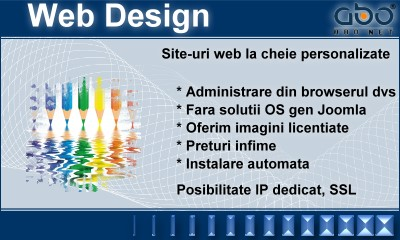 Web Design LIGHT Hosting romania .ro .net